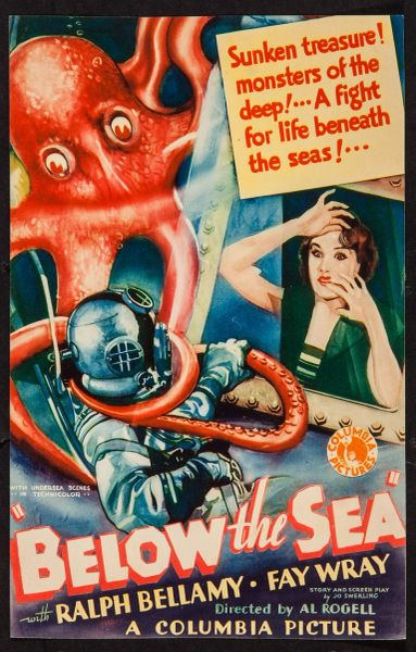 Below the Sea (1933) DVD