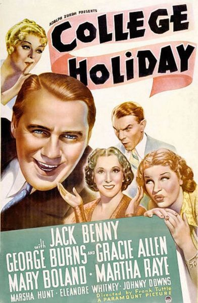 College Holiday (1936) DVD