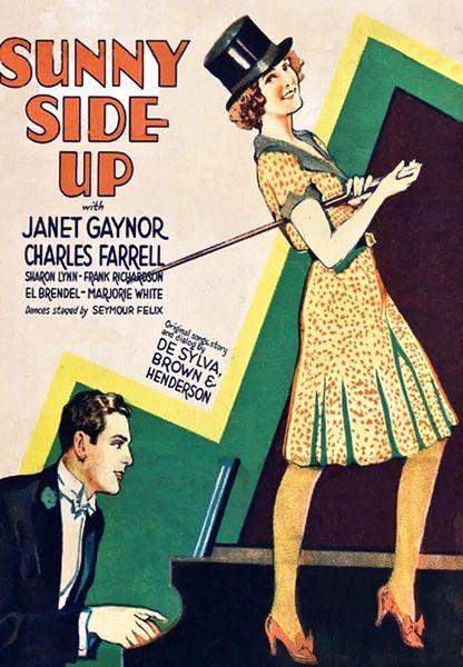 Sunnyside Up (1929) Janet Gaynor, Charles Farrell, Marjorie White