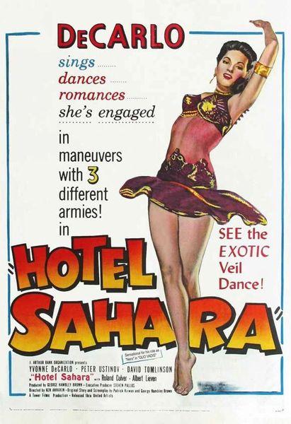 Hotel Sahara (1951) DVD