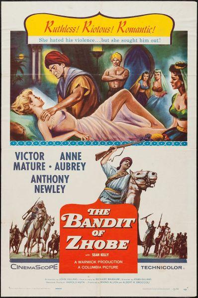 Bandit of Zhobe (1959) DVD