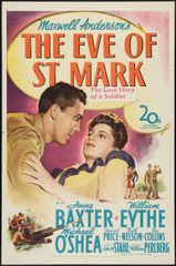 Eve of St. Mark Anne Baxter, William Eythe, Michael O'Shea, Vincent Price (1944)