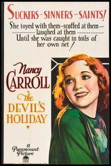 Devil's Holiday (1930) DVD