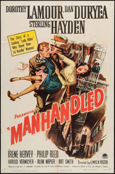 Manhandled (1949) DVD