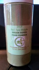 Green Super Food Powder - All natural and organic food powerhouse