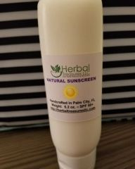 Sunscreen - Natural remedy against the suns damaging rays