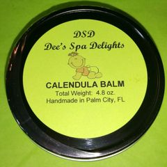 Calendula Balm-Natural remedy for diaper rash, cradle cap, acne and more