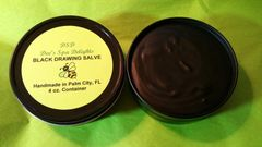 Black Drawing Salve - Natural Remedy for Splinters, Stings, Boils