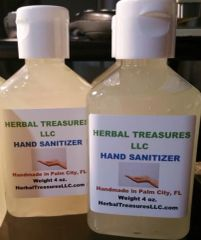 Hand Sanitizer - Natural Remedy for Killing Germs