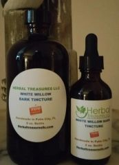White Willow Bark Tincture - Natural Pain Reliever and original source of Aspirin