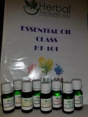 Essential Oil Class - HT 101 Local students only - Learn about essential oils, safety, make products and more
