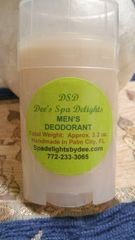 Men's Deodorant-Natural no Stink Remedy