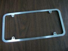Oversize License Plate Frame