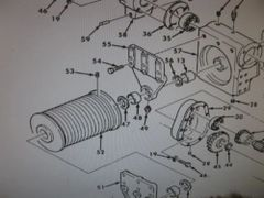 M809 CRANE CABLE REEL DRUM 10876174 NOS