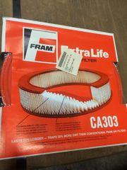 FRAM EXTRA LIFE AIR FILTER CA303 NOS