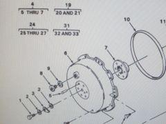 M561 GAMA GOAT SEALED BRAKE DRUM 11659884 NOS