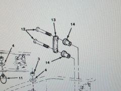 M1008 M1009 FRONT SPRING BUSHING 3975203 363913 NOS