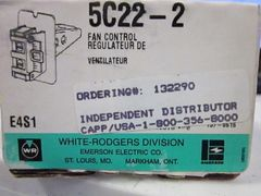 WHITE RODGERS DIVISION 5C22-2 FAN CONTROL REGULATOR NOS