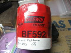 BALDWIN MICROLITE PRIMARY SPIN ON FUEL FILTER BF592