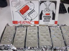 1 BOX OF 7 HEATPAC PERSONAL CHARCOAL HEATING ELEMENTS 8403.00 NOS