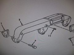 M939 M939A1 INTAKE MANIFOLD 202890 NOS