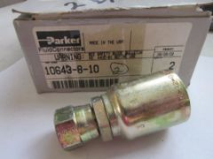 PARKER HANNIFIN FLUID CONNECTOR 10643-8-10 GOOD CONDITION