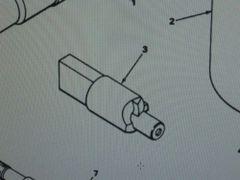 M561 GAMA GOAT TIP REFINISHING TUBE 10881902 NOS
