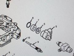 MEP-002A 5 KW MEP-003A 10 KW GENERATOR CYLINDER HEAD INSULATOR GASKET 110-0419 NOS