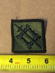 US ARMY 18TH ENGINEER BRIGADE SHOULDER SLEEVE INSIGNIA MIL-DTL-14652B NOS