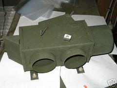 M44A1 A2 HEATER DIVERTER 7700251 MILITARY NOS
