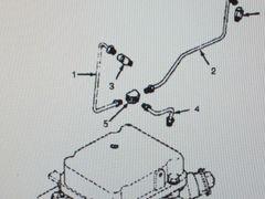 MEP-002A 5 KW GENERATOR FUEL LINE TEE 502-0102, 4730-01-008-6347 NOS