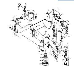 MEP-002A ELECTRIC 24 VOLT FUEL PUMP 72-5313, 2910-01-095-7595 NOS