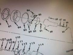 M1008 M1009 CAM CONTROL 23119, 5740587, 27833 NOS