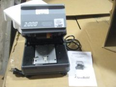 NEWBOLD ELECTRIC EMBOSSING IMPRINTER ADDRESSOGRAPH MODEL 2400 NEW