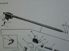 M35 2-1/2 TON SERIES STEERING GEAR 7521481 NOS