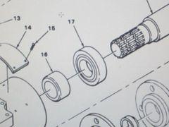 M561 GAMA GOAT POWER TAKEOFF BALL BEARING M201159, 3110-00-554-3197 NOS