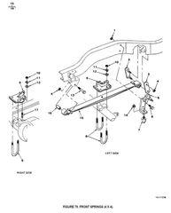 M880 LEAF SPRING ASSEMBLY 3893747 NOS
