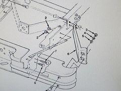 M1008 REAR BUMPER BRACE 14021344 14067784 NOS
