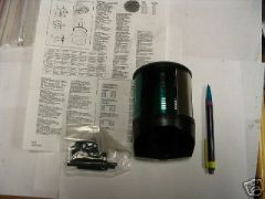 PERKO 24 VOLT MARINE NAVIGATION LIGHT GREEN NEW, NOS