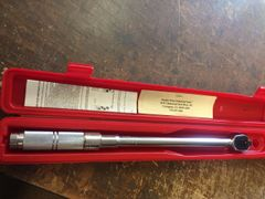 """PROTO 30 TO 150 FT-LBS 1/2"""" DRIVE TORQUE WRENCH GSA6016F NEW"""