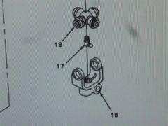 M561 GAMA GOAT STEERING COLUMN SHAFT ASSEMBLY 11601572 NOS
