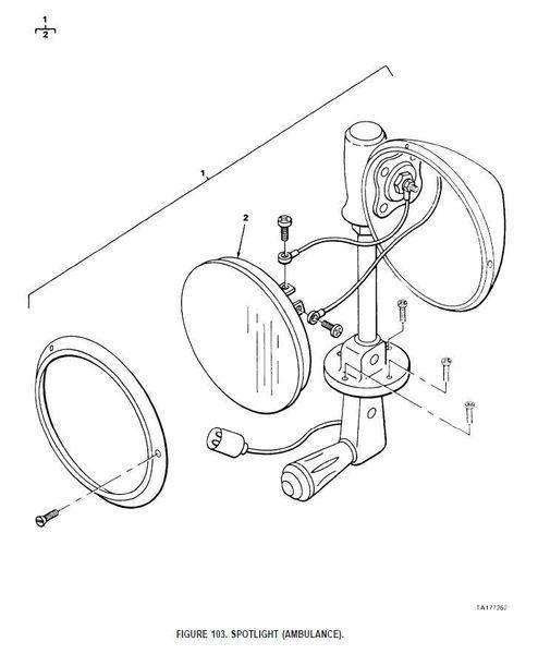 m880 spotlight u250k nos