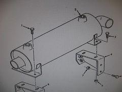 M939 TRANSMISSION OIL COOLER FLUID 11669164 NOS