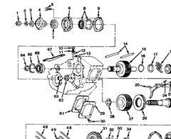 M1008 M1009 TRANSFER CASE BEARING 9422715 NOS