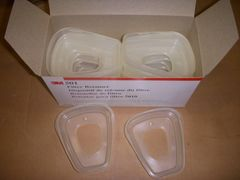 BOX OF 3M 501 FILTER RETAINER NEW