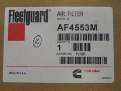 CUMMINS FLEETGUARD AF4553M AIR FILTER ONAN NOS