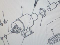 M561 GAMA GOAT STARTER RELAY SOLENOID 1115505 NOS