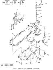 6.2L OIL PAN GASKET KIT OS34400, 5330-01-310-6780 NOS