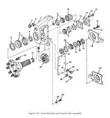 M998 UPPER ROLLER BEARING 5568226, 3110-01-027-4475 NOS