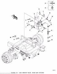 M1078 ANTI LOCK BRAKE LOAD SENSOR VALVE N50016A NOS